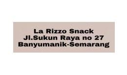 LA RIZZO SNACK Jl Sukun Raya no 27 Banyumanik – Semarang